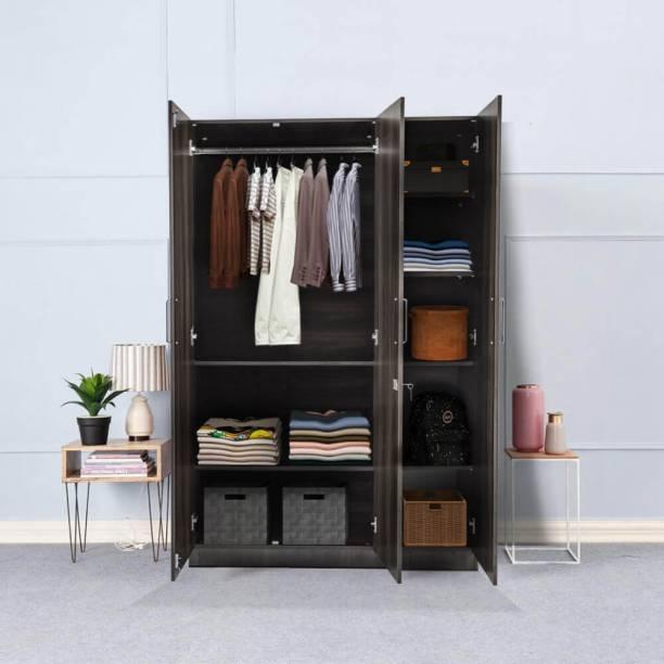 Wakefit Engineered Wood 3 Door Wardrobe