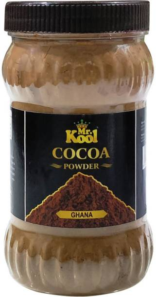Mr.Kool Premium Natural Special Ghana Cocoa Powder 300g for Cake Baking | Chocolate Cookie | Choco Shakes Cocoa Powder