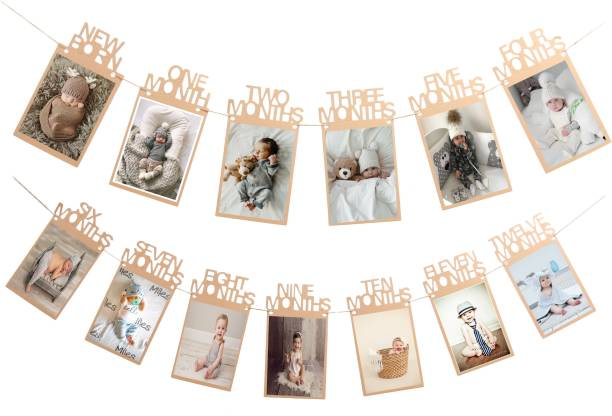 PARTY MIDLINKERZ Thickened Kraft Card Paper Birthday Photo Prop Banner Banner