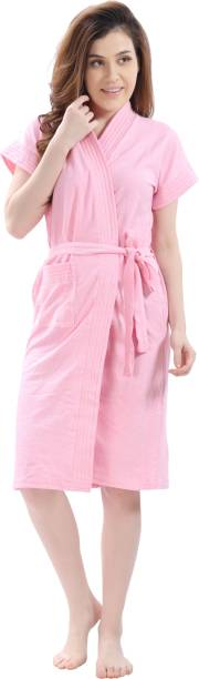 lacylook Plain Pink 3XL Bath Robe