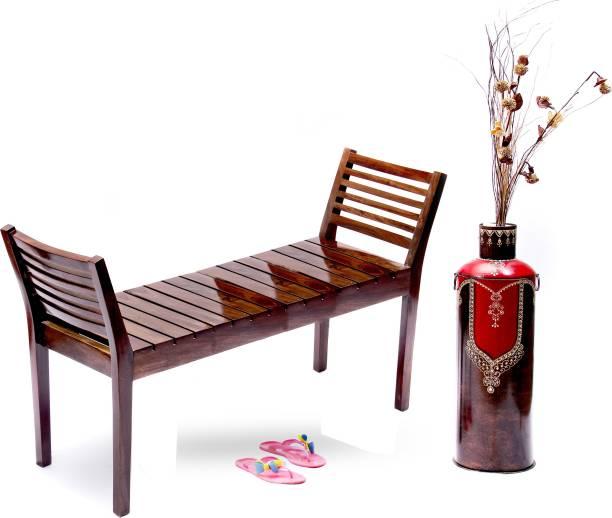 Induscraft Sheesham Wood Solid Wood 2 Seater