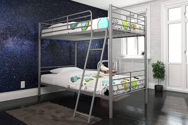 AntiqueMetalHub Metal Bunk Bed