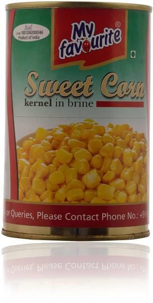 My Favourite Sweet Corn Kernel In Brine, 450 g Corn