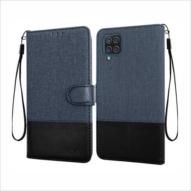 Febelo Flip Cover for Samsung Galaxy M12, Samsung Galaxy F12