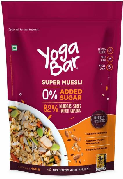 Yogabar Almonds,Seeds and whole Grains Muesli