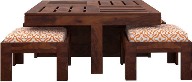 Induscraft Sheesham Wood 4 Seater Coffee Table Solid Wood Coffee Table
