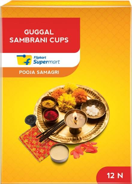 Flipkart Supermart Guggal Sambrani Cups Dhoop