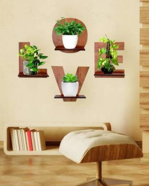 Wallwey décor SELF2032 Engineered Wood Display Unit