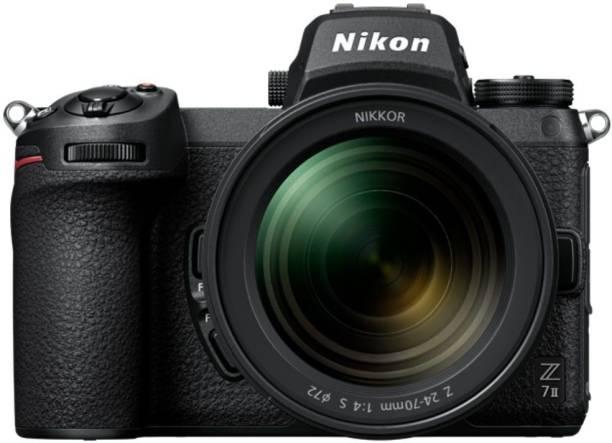 NIKON Z7 II Kit DSLR Camera 24-70mm F/4S with 64GB UHS-II SD Card