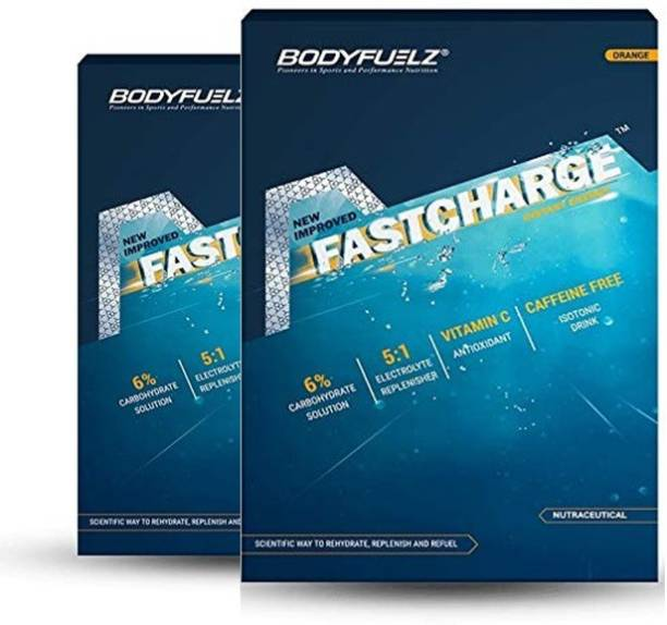 Bodyfuelz FastCharge Instant Energy Orange Flavour Energy Drink