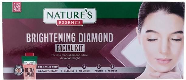 Nature's Essence Brightening Diamond Facial Kit