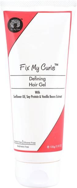 Fix My Curls Defining Hair Gel For Curly And Wavy Hair Hair Gel