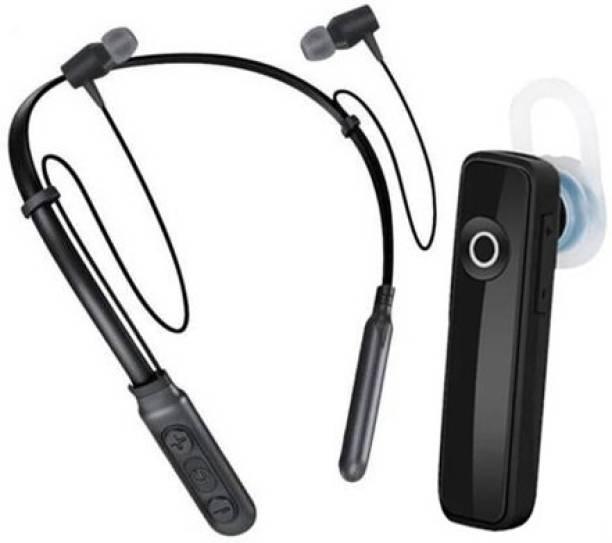 EGSHOP B11 Nack Band Combo K1 Pack OF 02 Bluetooth Headset