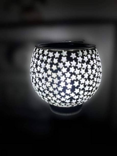 ASHTAMANGAL Electric Incense burner or kapoor dani With night lamp multicolour N_2 Glass Incense Holder