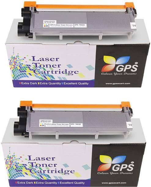 GPS Colour Your Dreams TN-2365 Toner Cartridge Compatible For Brother HL-L2321D, L2361DN, L2366DW, L2320d, DCP-L2541DW, L2520D, MFC-L2701D, L2701DW ( Pack Of 2 Pcs ) Black Ink Toner
