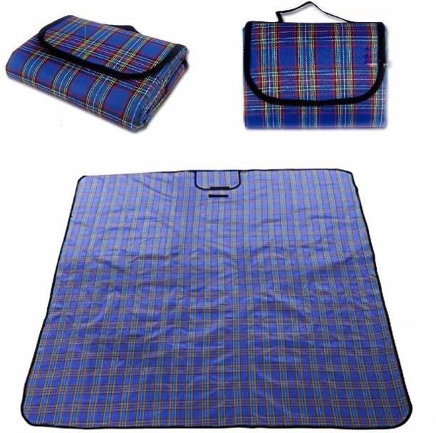 Inditradition Picnic Mat, Camping & Outdoor Foldable Sleeping Mat | Waterproof, 6 x 6 Feet Sleeping Bag