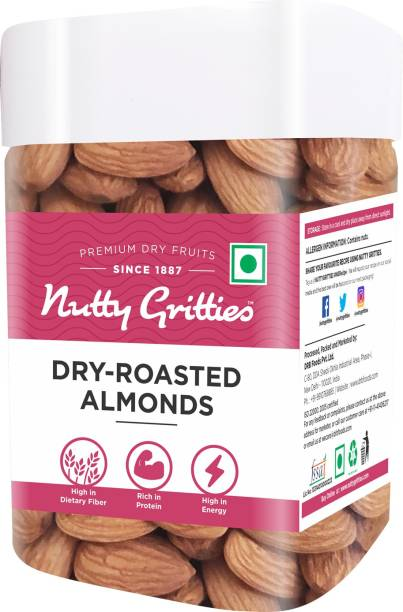 Nutty Gritties Unsalted California Almonds Almonds
