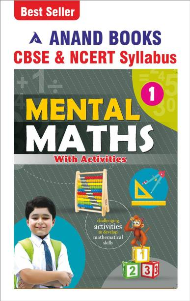 Anand Books Mental Maths-1 A Maths Activity Book With Worksheets For Class 1st CBSE