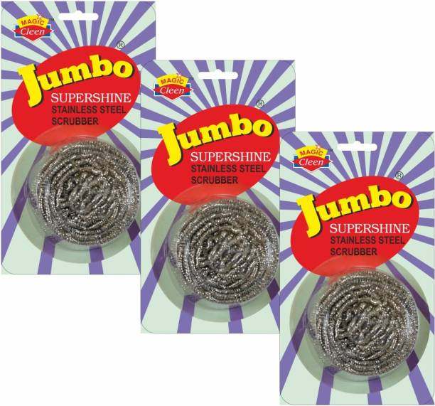 Magic Cleen Jumbo Steel Scrubber Stainless Steel Scrub