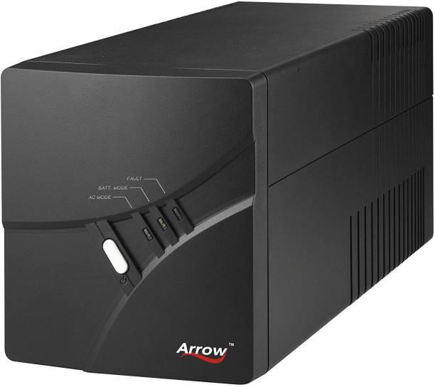 Arrowpowertech 1KVA (1000VA) Line Interactive UPS, High-Performance Premium Power Backup & Protection for Home Office, Desktop PC, Gaming Console & Home Electronics UPS
