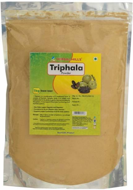 Herbal Hills Triphala Powder - 1 kg powder - Pack of 4
