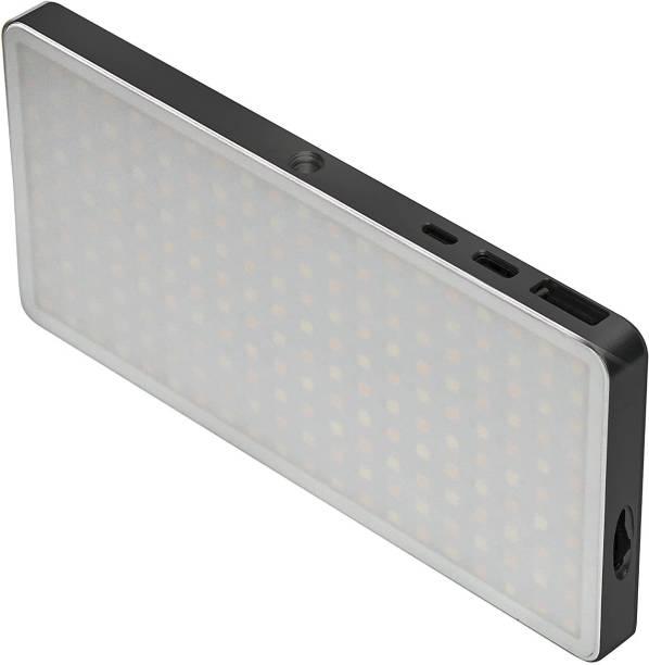 DIGITEK LED-D200ML Metal Body Portable LED Video Light|Light Weight with Built-in Li-Polymer Battery 1350 lx Camera LED Light