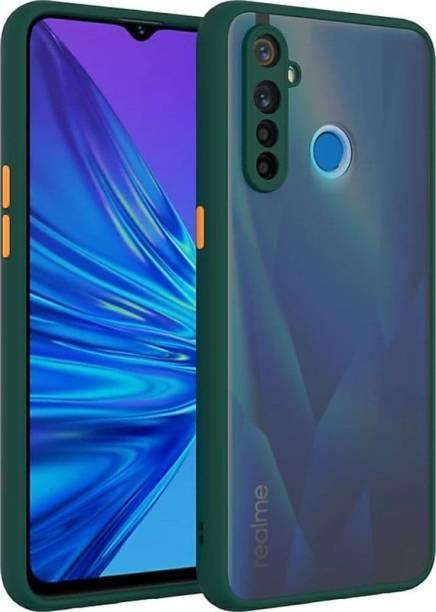 ROSALINE Back Cover for Realme 5, Realme 5i, Realme 5s, Realme Narzo 10, Mobile, Plain, Case, Cover