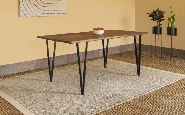 Orange Tree Metric Solid Wood 6 Seater Dining Table