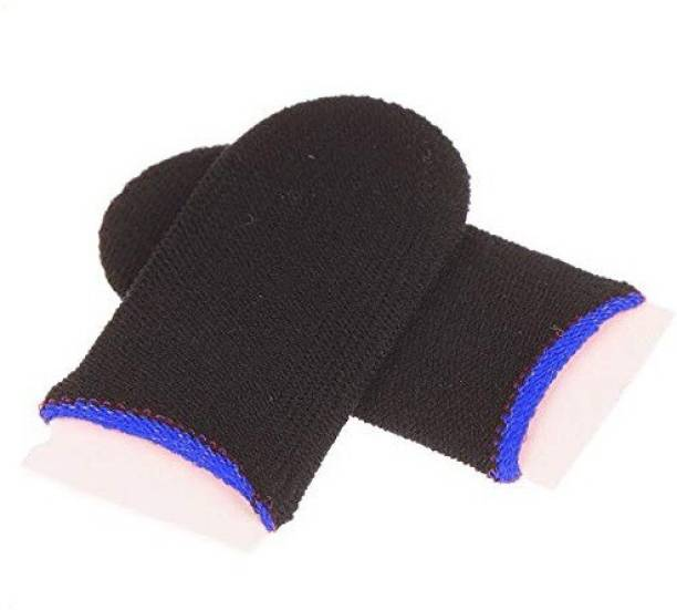 MJ Hub PUBG_GAMING_SLEEVE, Touchscreen, Anti-Sweat, Two Finger Gloves Finger Sleeve  Gaming Accessory Kit