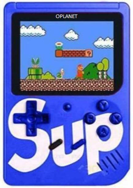 OPlanet Retro SUP Game Box with Mario/Super Mario/DR Mario/Contra/Turtles & Other 400+ Games with Battery Included 1 GB with Four Hundred Games (Multicolor) 1 GB with 400 Games IN 1