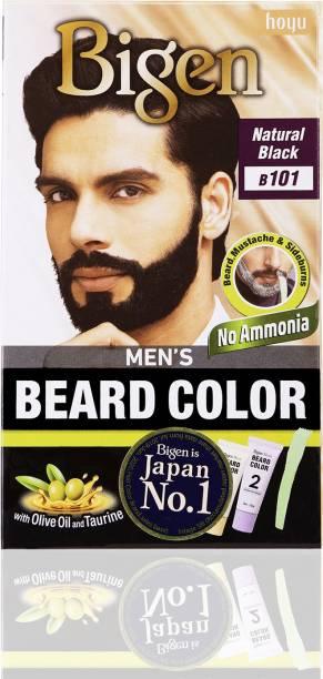 Bigen Men's Beard Color B 101 , Natural Black