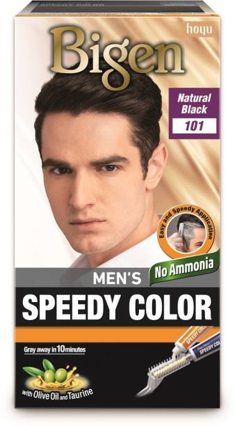 Bigen Men's Speedy , Natural Black