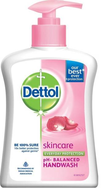 Dettol Skincare Handwash Hand Wash Pump + Refill