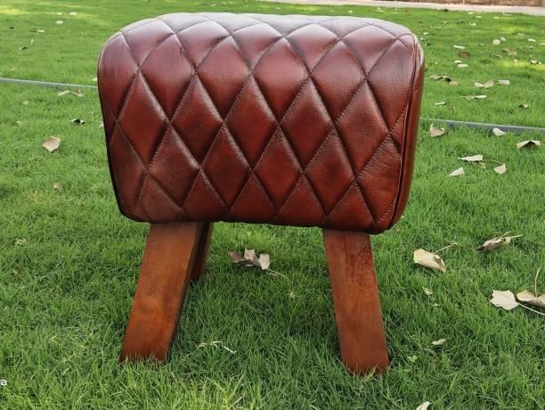 KOBMAND Solid Wood Standard Ottoman