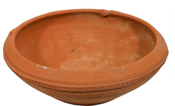 GTHC Clay Curd Pot Handi 1 L