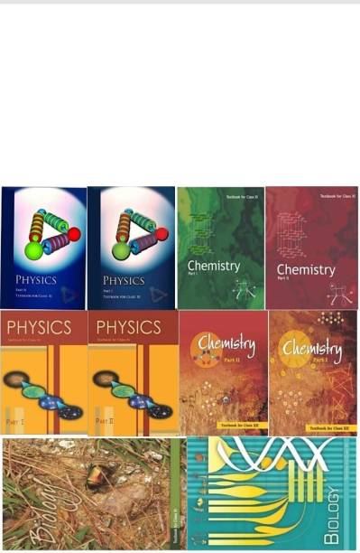 NCERT Science (Physics, Chemistry),(Biology 11th &12th ) Complete Books Set For Class -11 AND 12 (English Medium) (Paperback Binding, NCERT)