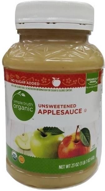 Simple Truth Organic Applesauce Unsweetened -23 oz Sauce