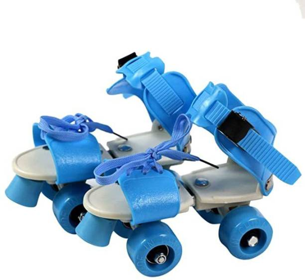 Animani Collection Shoe Roller Skates for Boys and Girls, Inline Skating Shoes Quad Roller Skates - Size 4-6 UK Quad Roller Skates.Adjustable Break Quad Roller Skates - Size 5-11 UK