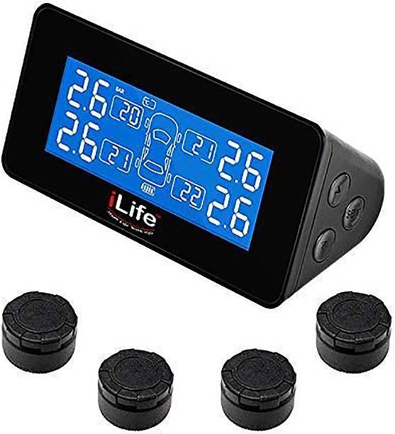 iLife Smart Tyre Pressure Gauge Universal Solar TPMS