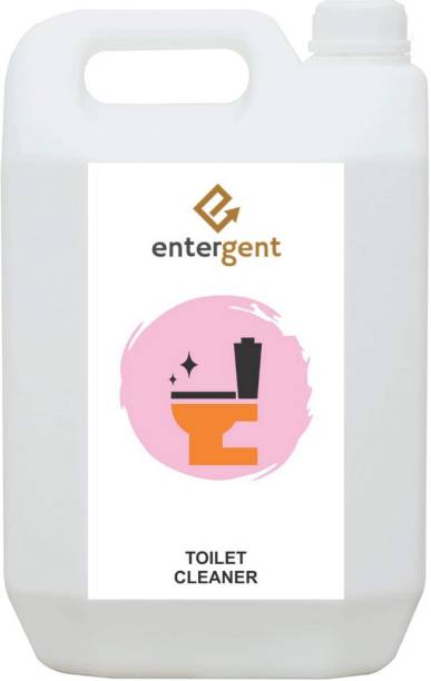 ENTERGENT Disinfectant toilet cleaner -5 L Pack of 1 Regular Liquid Toilet Cleaner