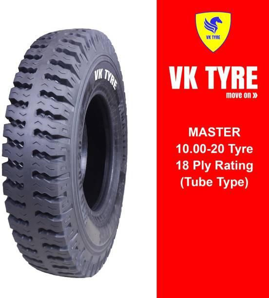 VK TYRE MASTER LUG 10.00-20 4 Wheeler Tyre