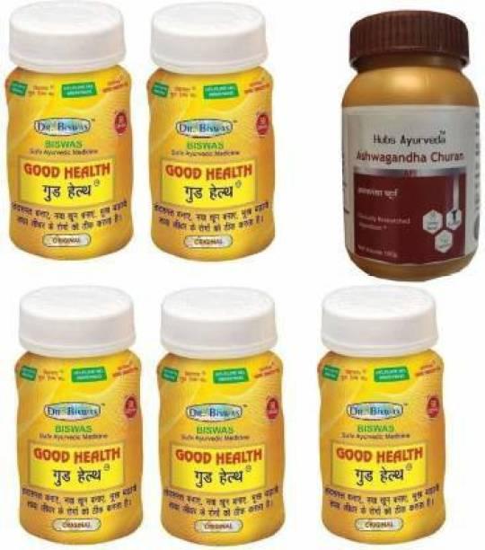Dr. Biswas Good Health With hubs ashwagandha churna