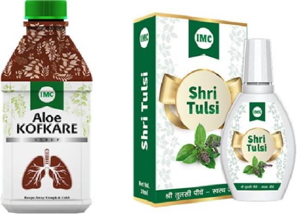 IMC Kof care syrup + Tulsi drops