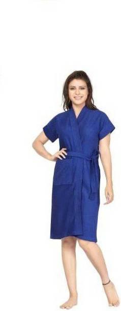 Bombshell Royal Blue Large Bath Robe