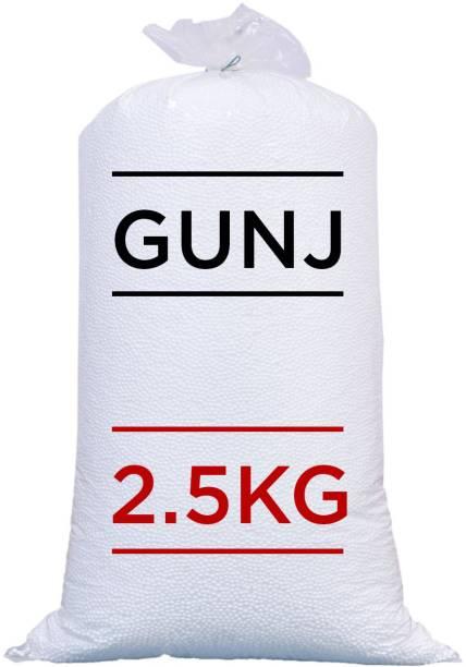 Gunj Premium Bean Bag Refill/Filler-2.5Kg Bean Bag Filler