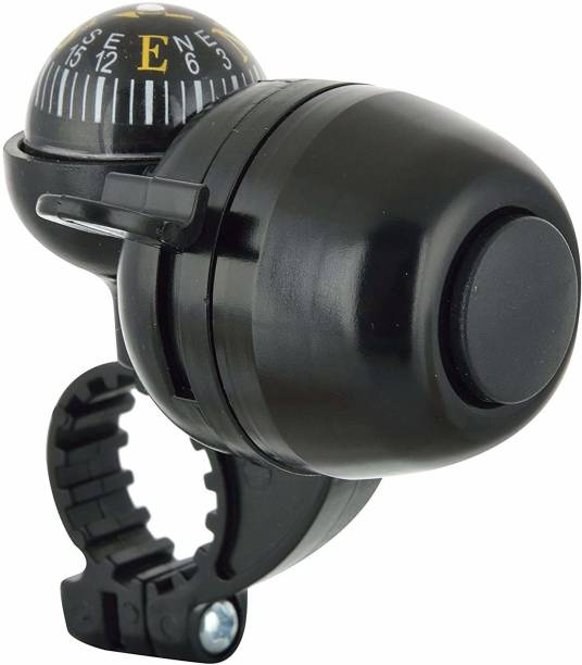 Leosportz Bicycle Navigation Direction Finder Handlebar Bell with Compass Bell