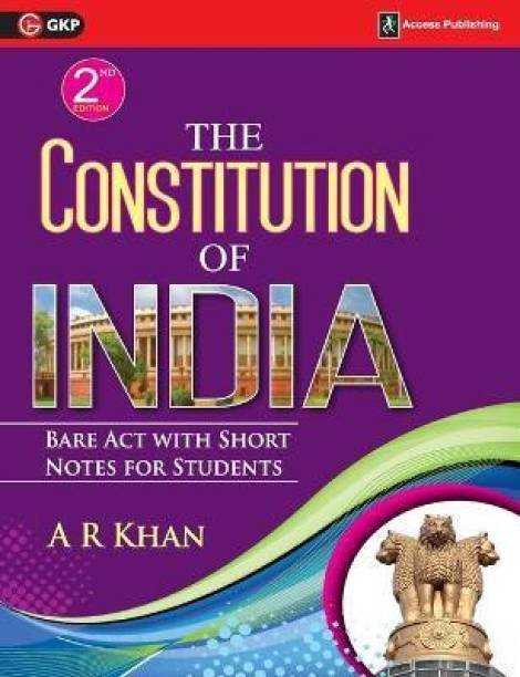 The Constitution of India - Bare Act with Short Notes for Students