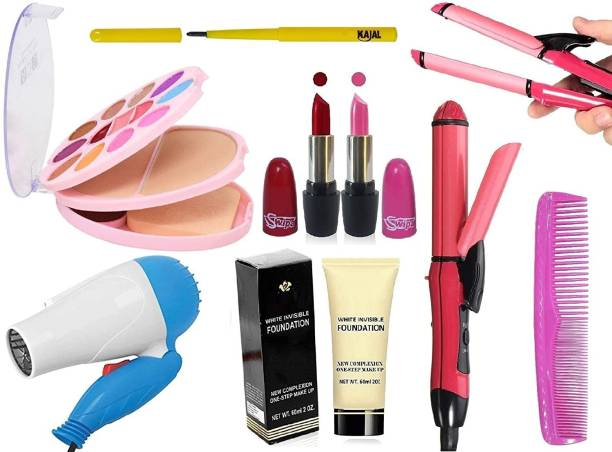 SWIPA Beauty and The Best Brushes With Makeup Kit Combo