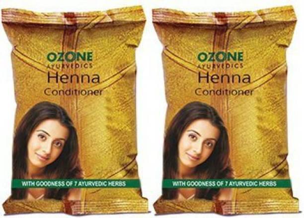 OZONE Henna Conditioner Pack of 2 – 200g.