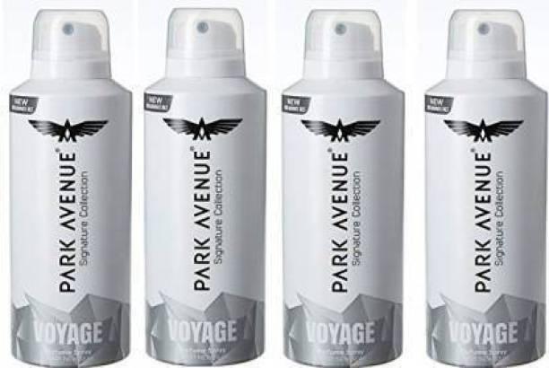 Park Avneue PARK AVENUE Voyage Deodorant For Men 150 Ml*4 Pcs Body Spray  -  For Men